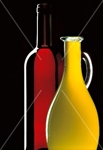 Red wine and olive oil