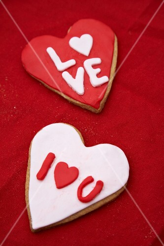 Heart cookies for your Sweetheart