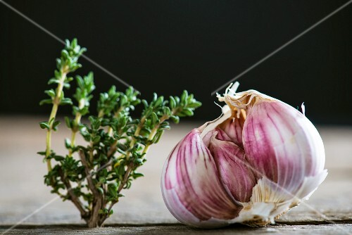Garlic and thyme
