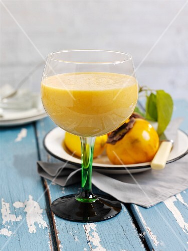 Fruit cocktail with orange, sharon fruit and grapefruit