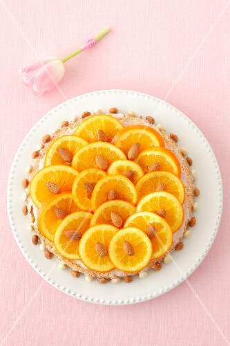 Orange and almond cake