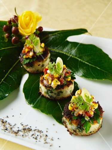 Bubble And Squeak Canapes
