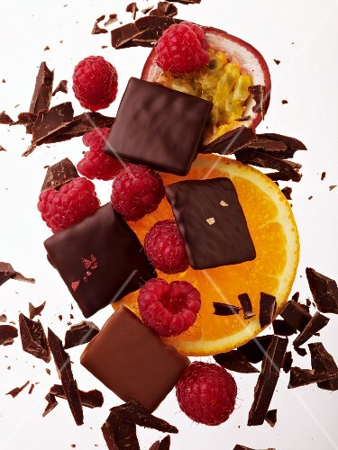 Chocolate and fruit