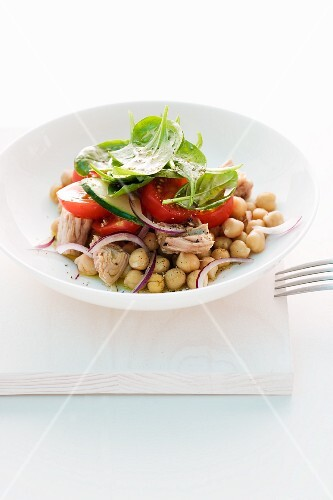 Chick-pea salad