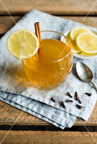 Hot Toddy (winter hot drink with whisky, Scotland)