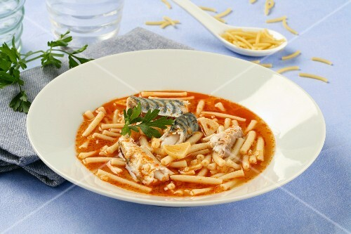 Mackerel with noodles (Andalusia)