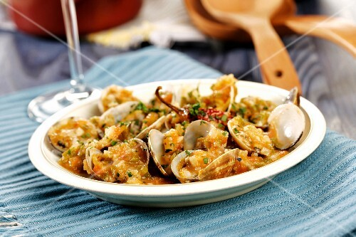 Marinated clams (Catalonia)