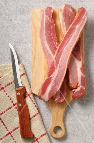 Slices of Speck ham