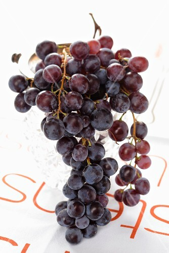 Red Chasselas grapes