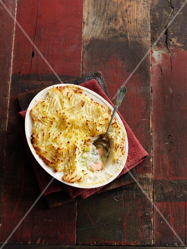 Fish Pie with Carotts