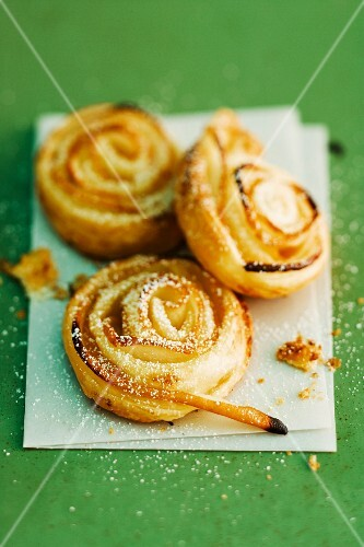 Pear Danish pastries