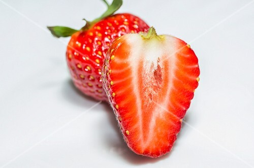 Fresh and juicy strawberries