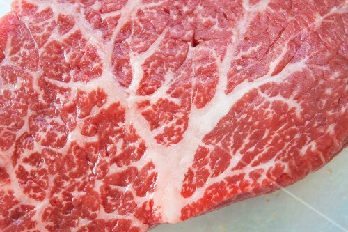Kobe beef steak (detail)
