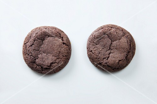 Two blackberry cookies