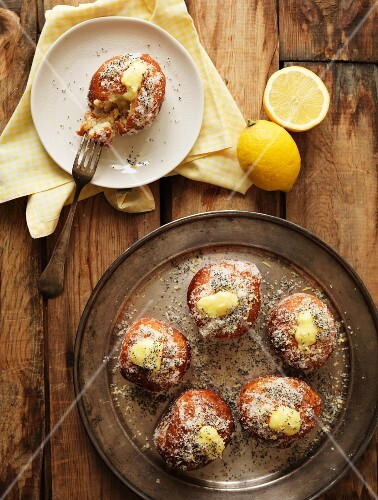 Doughnuts with a lemon filling