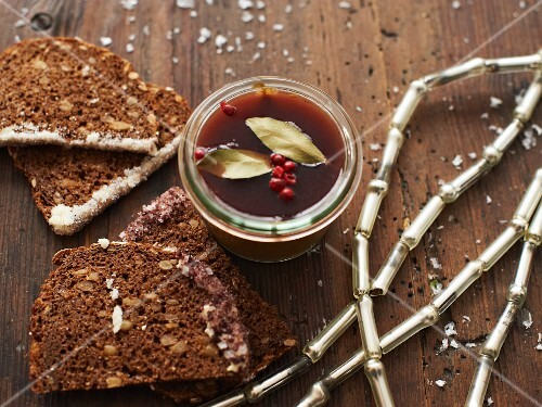 Goose liver pate as Christmas presents