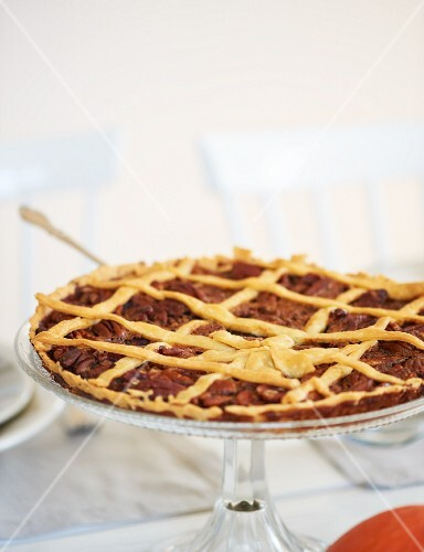 A pecan pie for Thanksgiving