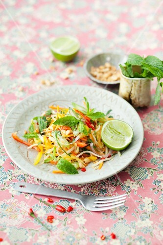 Sweet-and-sour vegetable salad (Thailand)