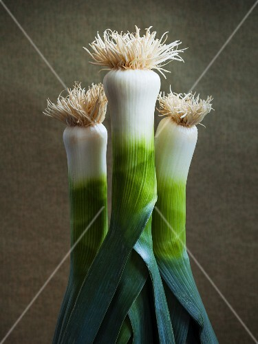 Three leeks