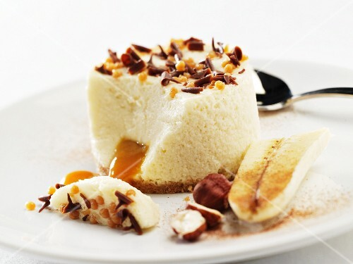 Banoffee mousse