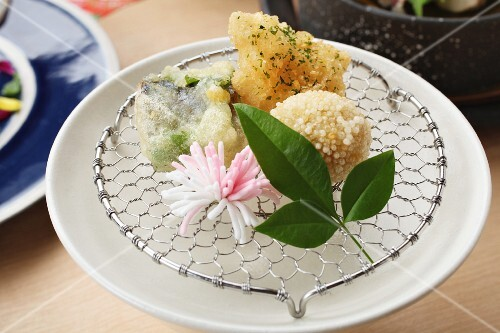 Fried tempura dumplings (Japan)