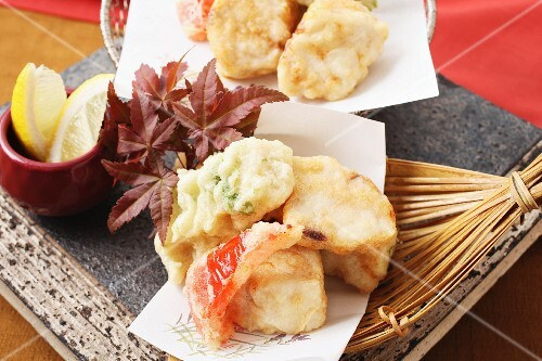 Tempura with vegetables (Japan)