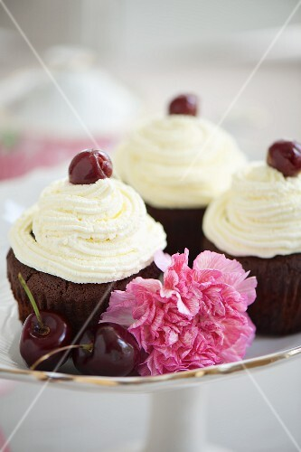 Black Forest Gateaux cupcakes