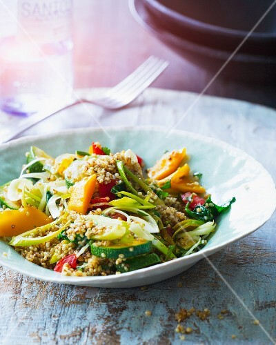Quinoa and vegetable pilau