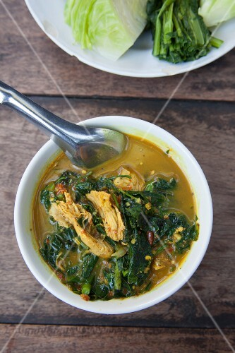 Chicken and vegetable curry (Thailand)