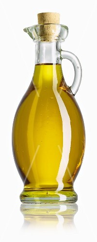 Olive oil in carafe