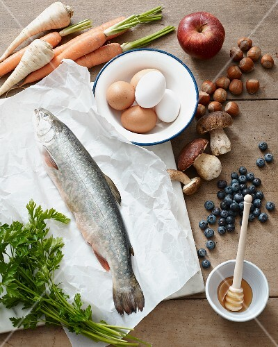 Ingredients for the Paleo diet