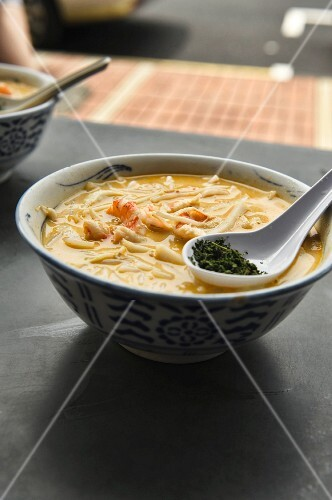 Laksa (fish soup from Singapore)