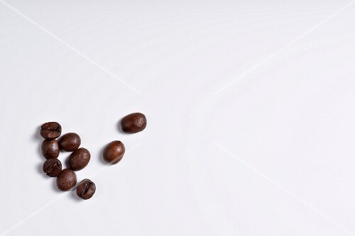 Coffee beans (seen from above)