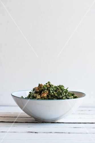 Tabbouleh in a Bowl