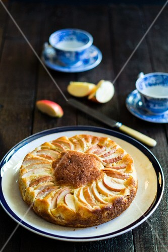 Apple and yoghurt cake