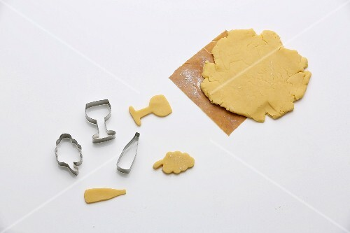 Biscuit pastry and cutters