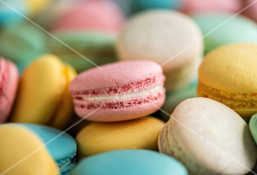 Selection of macaroons