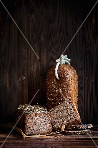 Wholemeal rye bread from Rügen