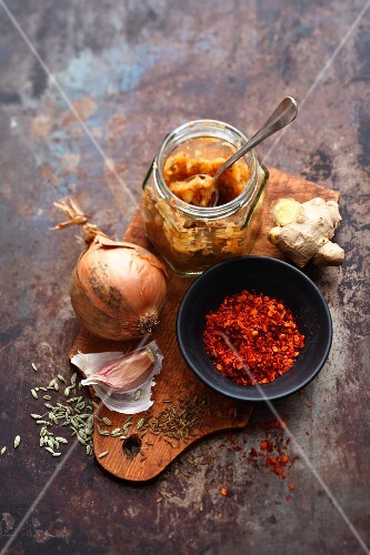 Spices and vegetable stock powder for stew