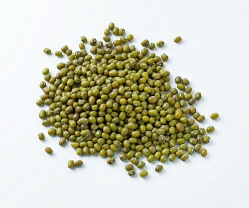 A pile of mung beans