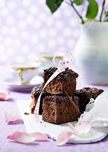 Chocolate cake bites