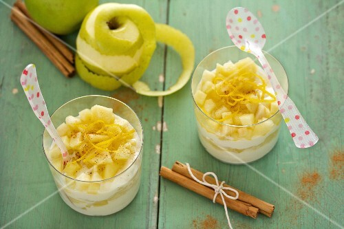 Ricotta and apple dessert