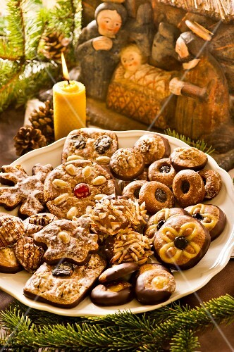 A selection of Austrian gingerbread