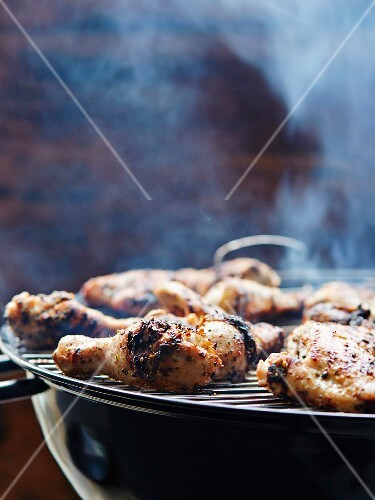 Barbecued jerk chicken (Jamaica)