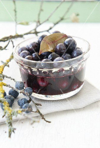 Preserved sloes