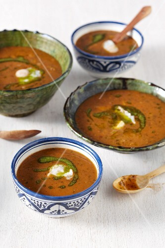Harira (traditional fasting soup from Morocco)