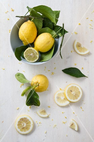 Arrangement of lemons (seen from above)
