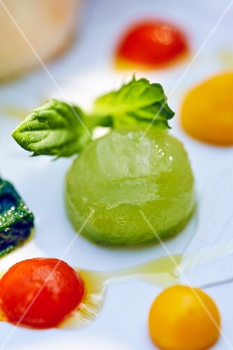 Green melon jelly