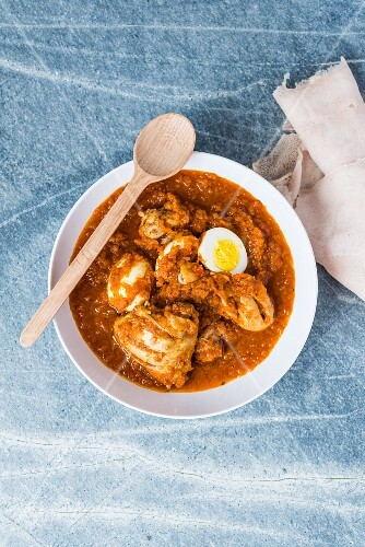 Doro Wot (chicken stew from Ethiopia)