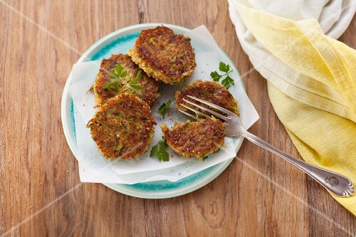Five-grain fritters with oats (post fasting)
